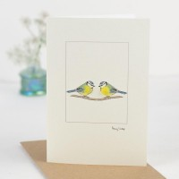 Bluetits Card