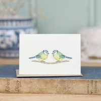 Mini Bird Bluetit card