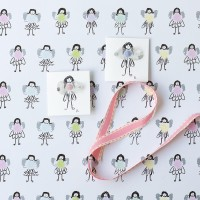 Gift Wrap - Fairy - 25 loose sheets