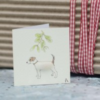 Christmas Gift Tag - Jack Russell