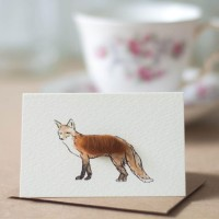 Mini Fox card