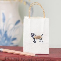 Gift Bag - Border Terrier - tiny
