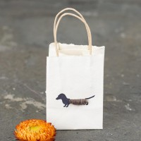 Gift Bag - Dachshund - tiny