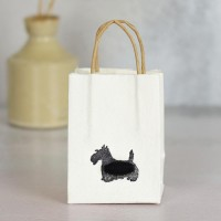 Gift Bag - Scottie - tiny