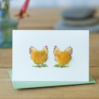 Chickens Gift Card - Buff Orpingtons