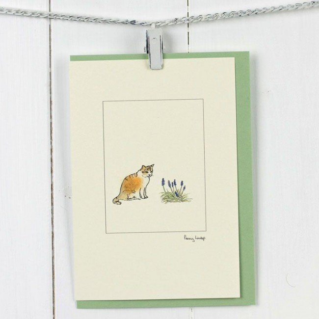 Cat marmalade card