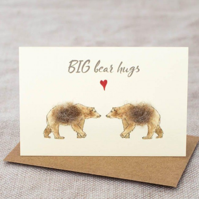 Mini Bear Hugs card