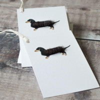 Gift Tags, with string - Dachshund