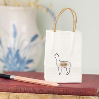 Gift Bag - Alpaca - tiny