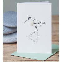 Mini Bird Avocet card