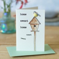 Mini Home sweet home card