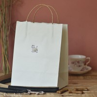 Gift Bag - Westie - large