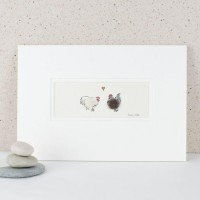 Bantams in Love print