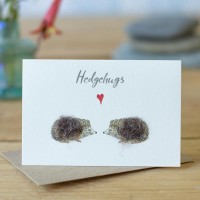 Mini Hedgehugs card