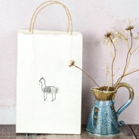 Gift Bag - Alpaca - small