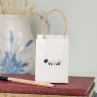 Gift Bag - Sheep - tiny