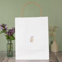 Gift Bag - Owl - large