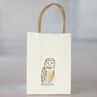 Gift Bag - Owl - tiny