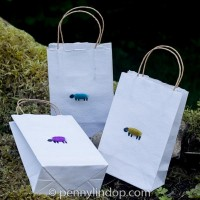 Gift Bag - Sheep - small