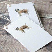 Gift Tags, with string - Border terrier