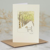Jack Russell in avenue card