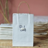 Gift Bag - Westie - small