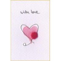 Mini Heart with love card