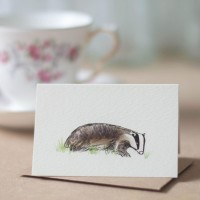 Mini Badger card