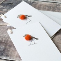 Gift Tags, with string -Robin