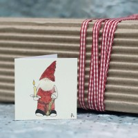 Christmas Gift Tag - Gnome