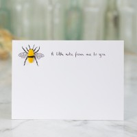 Notecards Bee