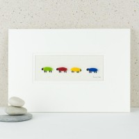 4 Bright sheep print