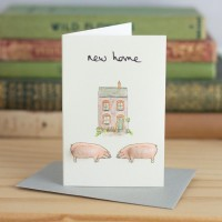 Mini Pig new home card