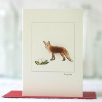 Christmas Fox Christmas card
